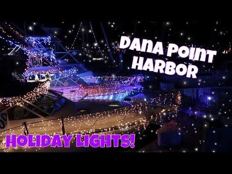 Dana Point Harbor Holiday Lights