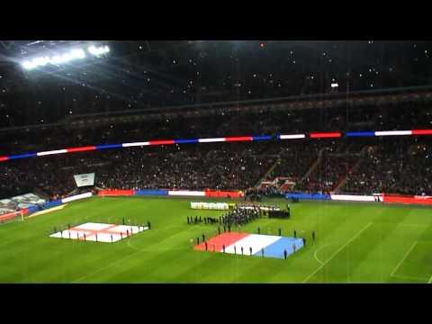 England v France, National Anthems 17 Nov 2015