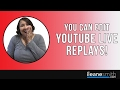How to Edit YouTube Live Stream Replay