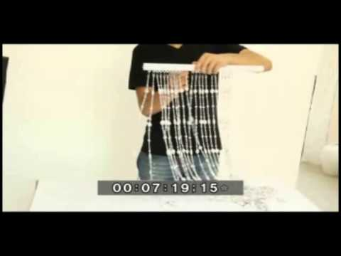 DHgate DIY Tutorial- Make Your Own Beaded Curtains For Doorways, Living Room, Bedroom and Kitchen
