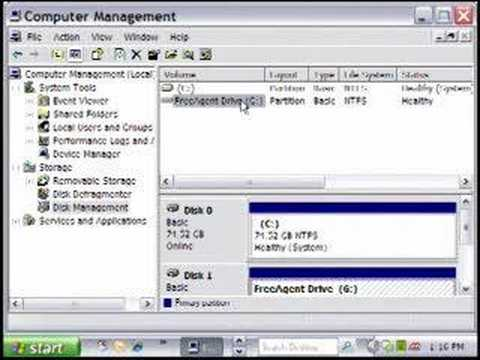 How To Change a Windows Drive Letter