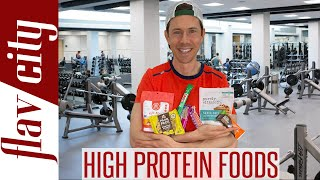 The Highest PROTEIN Foods At The Grocery Store - Protein Food Haul