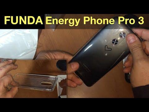 Funda para Energy Phone Pro 3 (transparente)