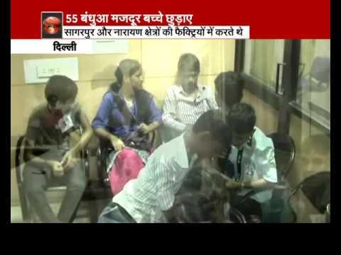 Delhi government officials rescue 51 child labourers