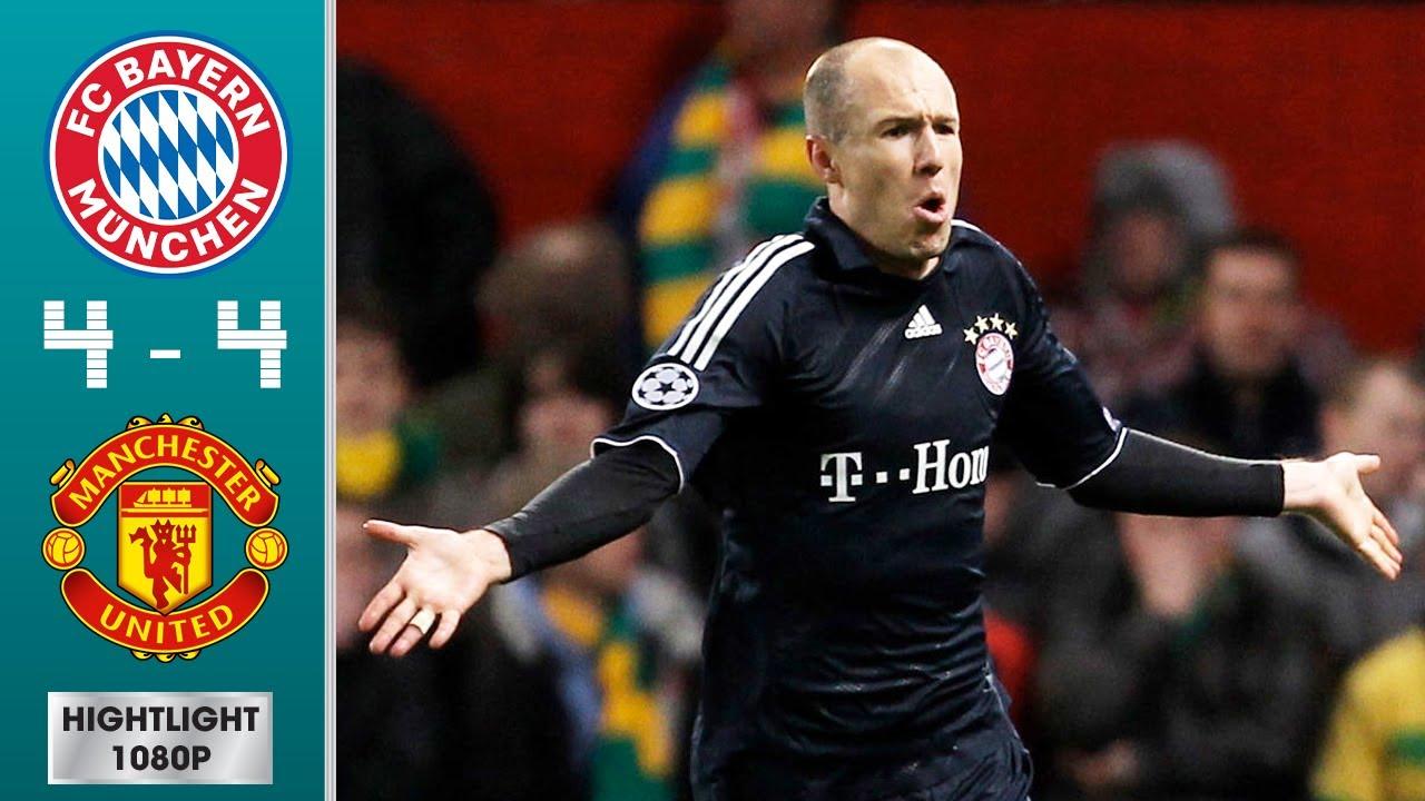 Bayern Munich vs Manchester United 4-4 (agg) Highlights & Goals - Quarter-Final | UCL 2009/2010