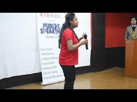 Value of Time | Shefali (IAS Aspirant) | Grand Public Speaking Championship