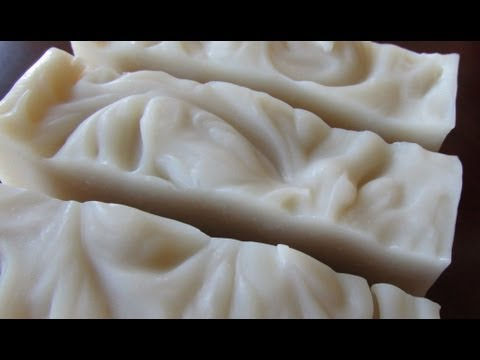 * Spa Inspired Facial Soap * Using French Green Clay - Making Soap with Natural Ingredients
