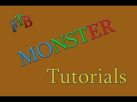 Minecraft - FTB Monster Tutorial How to pick up mob spawners