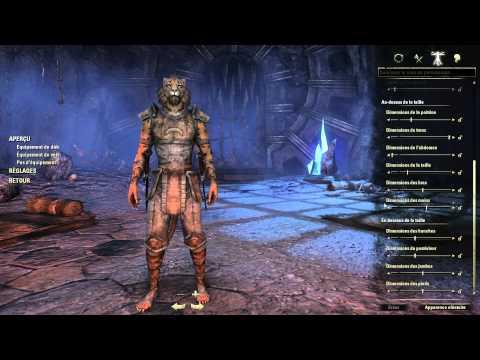 TESO - The Elder Scroll Online - BETA : création du personnage