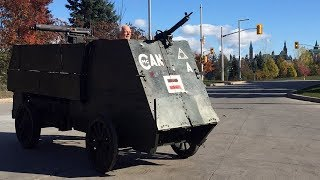 WWI armoured vehicle rides again