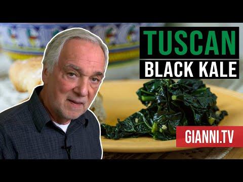 Tuscan Black Kale Italian recipe - Vegan, Med, Paleo