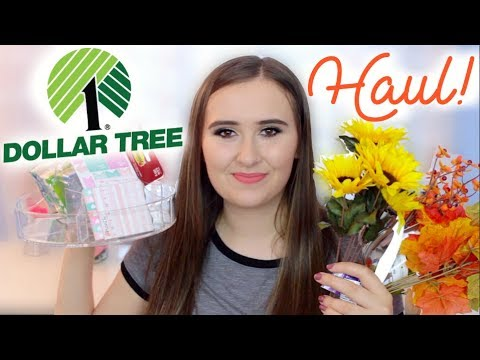 FALL DOLLAR TREE HAUL 2017!!