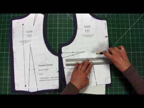 Sewing - Make Your Own Clothes - Part 3 - Transfer Markings - Learn to Sew