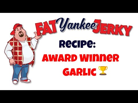 Recipe For Garlic Beef Jerky Fat Yankee Jerky