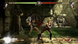 Street Fighter 5 mods Laura Mileena MKD By BrutalAce