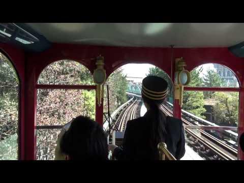 Driver's view of Electric Railway (Tokyo Disneysea)