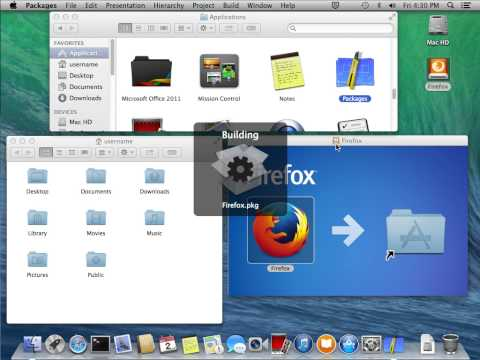 Building a Firefox installer with Whitebox Packages