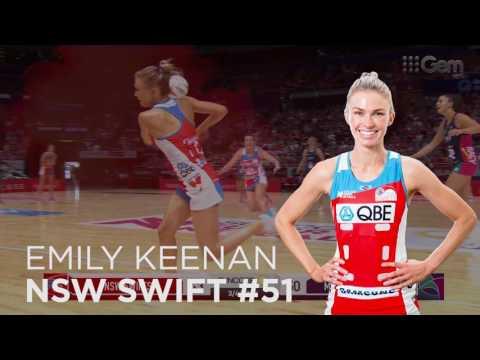 2017 NSW Swifts Debutants
