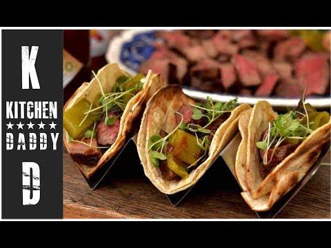 Grilled Tri Tip Tacos, Anaheim Chilis | Kitchen Daddy