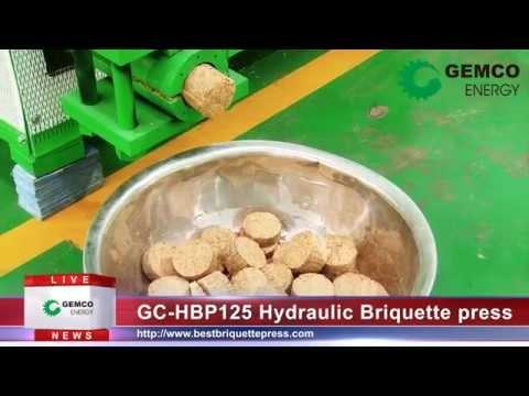 Biomass Hydraulic Briquette Machine for Making Sawdust Briquettes