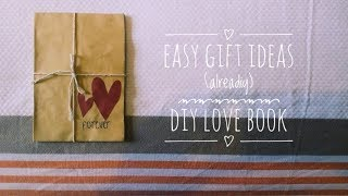 diy love book (LoveBookOnline) | easy gift ideas | alreadiy