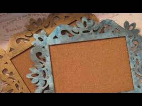DIY Handmade Vintage Photo Frame | Recycled Cardboard | Step By Step | Cardboard Photo Frame 2018