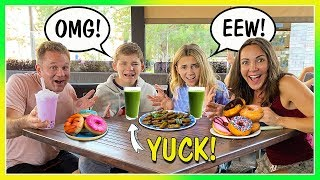 Download SWITCHING DIETS with KIDS for 24 HOURS | We Are The Davises Video