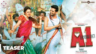A1 Official Teaser 2 | Santhanam, Tara | Johnson K | Santhosh Narayanan | S. Raj Narayanan