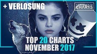 TOP 20 SINGLE CHARTS - 1. NOVEMBER 2017