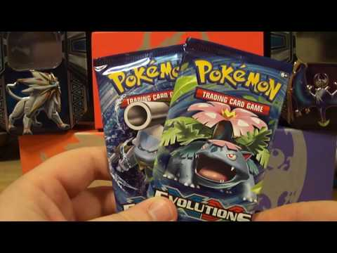 Pokemon XY Evolutions : 2 Pack Tuesday