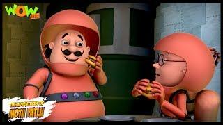 Space Ship - Motu Patlu in Hindi - 3D Animation Cartoon for Kids