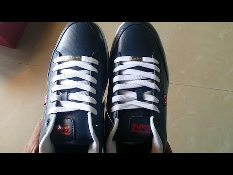 Levi's Aart Core PU Sneakers (Blue) Unboxing.