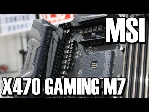MSI X470 Gaming M7 Preview