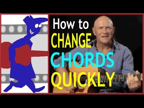 How to Change Chord shapes Quickly