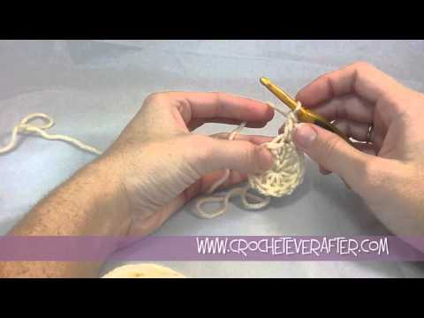 Double Crochet Tutorial #7: DC Increase in the Round