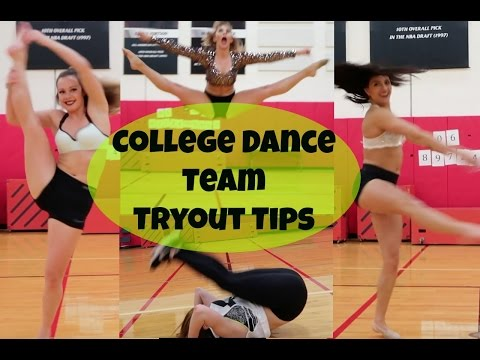 College Dance Team TRYOUT TIPS! | Courtney Dang