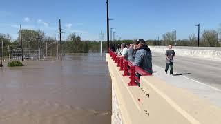 Downtown Midland experiences major flooding