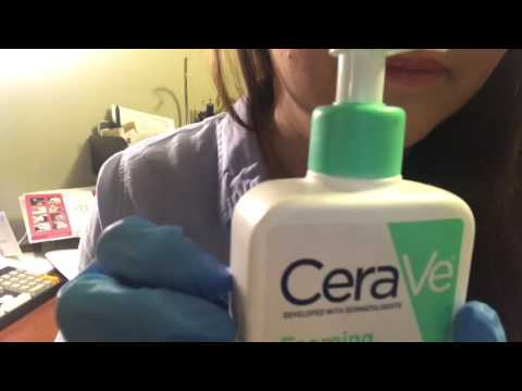 ASMR Dermatologist Roleplay/Skincare Consultant