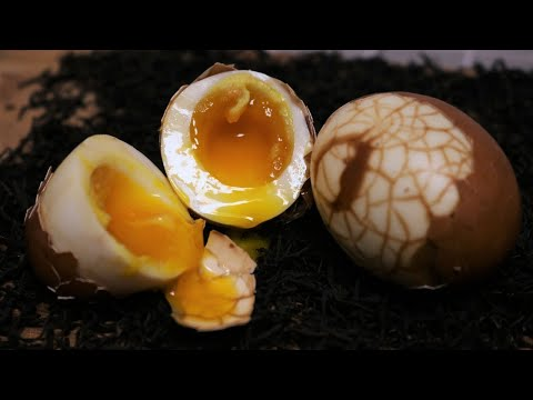 Running Yolk Chinese Tea Egg Recipe - Easy and Delicious [茶叶蛋]