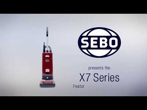 The Sebo Shop: Find out All about the New Sebo X7 Vacuum Cleaner and Where to Buy