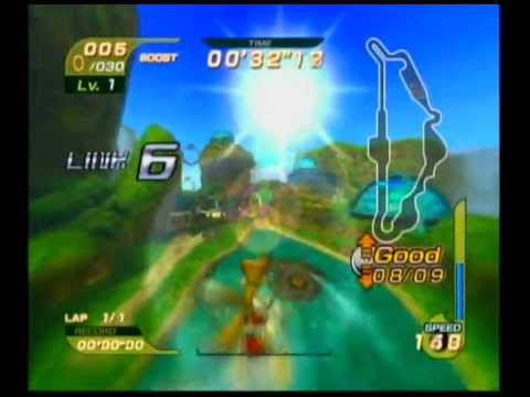 Sonic Riders - Missions - Splash Canyon