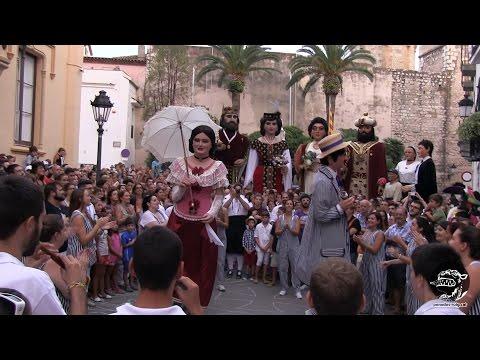 Festa Major Sitges 2015 - 03 - Trobada de Gegants pel 50è aniversari dels Cubanitos