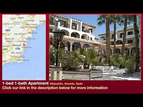 1-bed 1-bath Apartment to Rent in Villamartin, Alicante, Spain