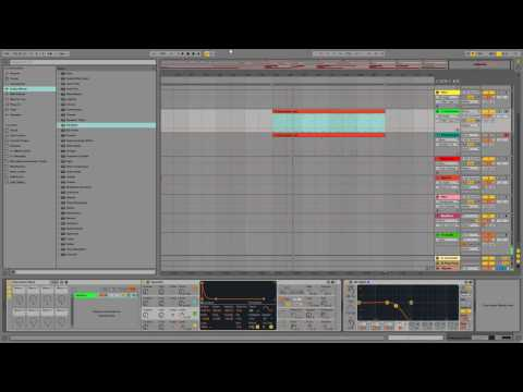 How to Make a House/Techno Stab Bass with Ableton's Operator