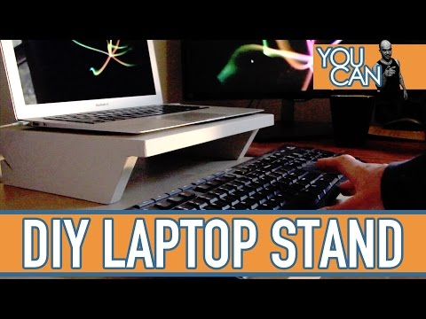 How To Make A Simple Laptop Stand