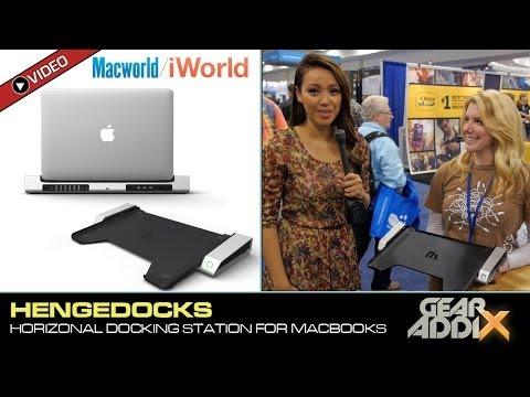 Henge Docks Horizontal Docking Station for Apple MacBooks