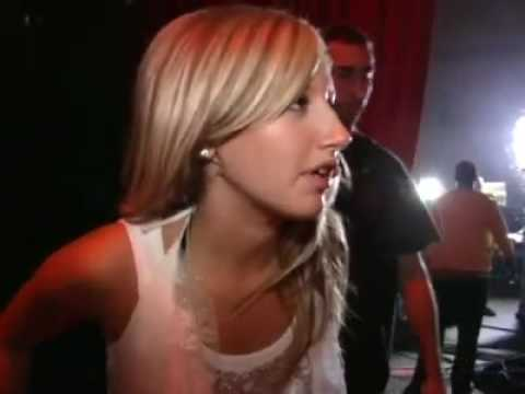 Rehearsing for the HSM Tour - Ashley Tisdale