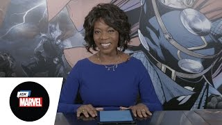 Ask Marvel: Alfre Woodard from Marvel