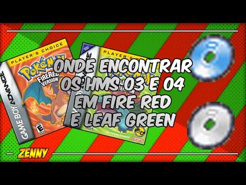 Como conseguir o Surf e o Strength em Pokémon Fire Red e Leaf Green