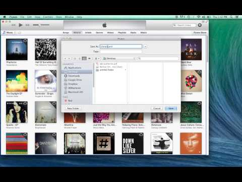 How to Backup an Entire iTunes Library